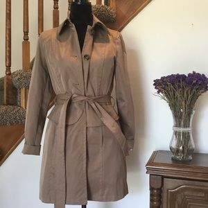 Plenty by Tracy Reese Tan Corine Trench Coat